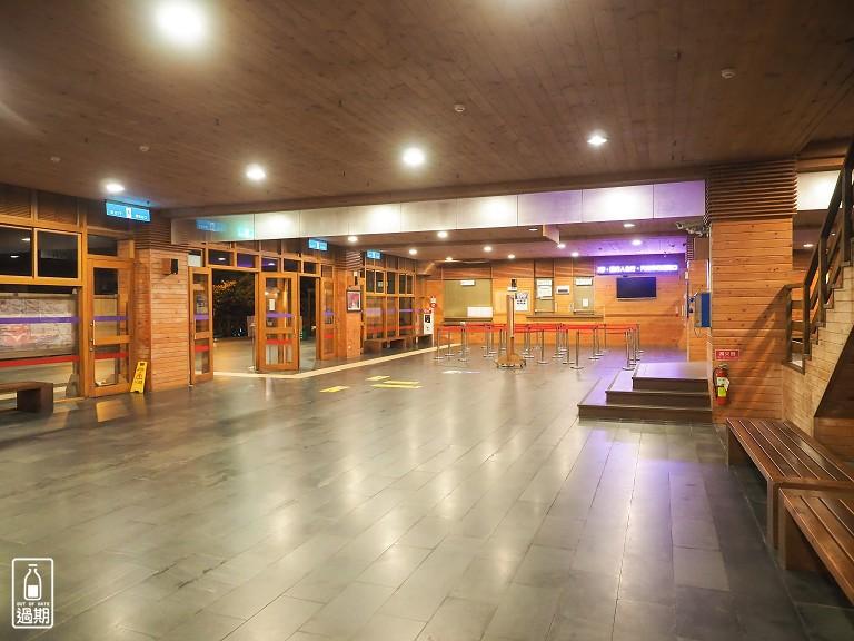 阿里山旅客服務中心停車場