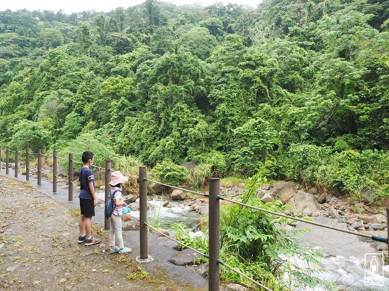 蓬萊溪護魚步道